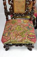 Fine Set of Four Late 17th - Early 18th Century Walnut Chairs (10 of 14)