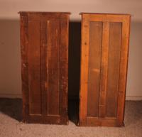 Pair of Open Bookcase - 19th Century in Mahogany (6 of 9)