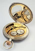 Antique 1911 Silver Waltham Bond Street Pocket Watch (3 of 5)