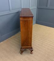 Burr Walnut Glazed Bookcase (11 of 14)