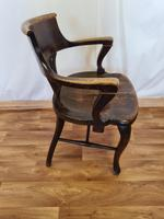 Oak Desk Chair (10 of 11)
