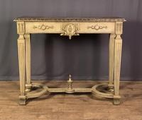 Italian Painted & Giltwood Console Table (11 of 11)