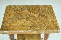 Liberty Carved Japanese Side Table (12 of 12)