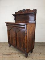 Antique 19th Century Mahogany Chiffonier Sideboard (10 of 12)