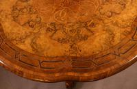 Stunning Quality Victorian Burr Walnut Centre Table Exhibition quality (3 of 15)
