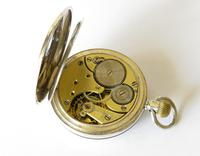 Antique Silver Omega Pocket Watch for Sanders & Co (5 of 6)