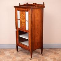 Inlaid Rosewood Music Display Cabinet (9 of 15)
