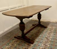 Good Quality Oak Refectory Dining Table (7 of 8)