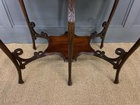 Rococo Style Mahogany Occasional Table (2 of 10)