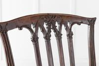 Pair of Georgian Carved Mahogany Side Chairs (5 of 5)