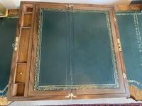 Victorian Brass-bound Walnut Writing Slope with Secret Drawers (17 of 39)