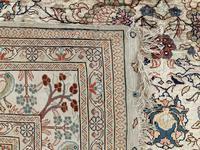 Vintage Anatolian Kayseri Silk Rug 2.22m x 1.51m (7 of 17)