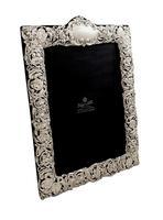 "Antique Edwardian Sterling Silver 11 1/2"" Photo Frame 1902 (10 of 10)"