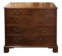 George III Mahogany Chest of Drawers c1800 (5 of 6)