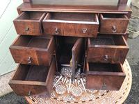 Antique Queen Anne Style Walnut Dressing Table Mirror (2 of 9)