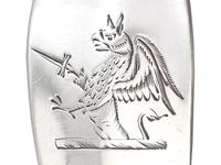 Irish Sterling Silver Gravy Spoons - Antique George III (8 of 9)