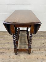 Antique Oak Gateleg Table (8 of 11)