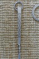 Archibald Carne Wrought Steel Companion Set Fire Irons c.1930 Cornish Truro (5 of 11)