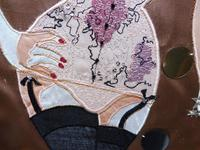 Embroidery Collage Hollywood Glamour Artist Heather Everit (8 of 10)
