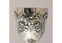 Mid 19th Century Antique Victorian Sterling Silver Wine Goblet London 1862 William Smiley (7 of 9)