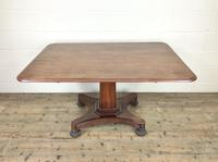 Large Victorian Mahogany Tilt Top Table (2 of 10)