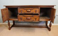 Antique Oak Sideboard Dresser Base (13 of 13)