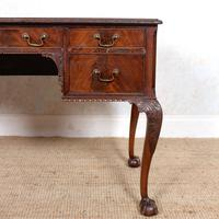 Carved Walnut Writing Desk (7 of 12)