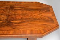 1920's Art Deco Figured Walnut Dining Table (10 of 10)