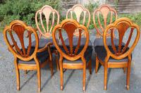 1960's Mahogany Pull Out Table with Set of 6 Dining Chairs.4+2 Carvers (7 of 14)