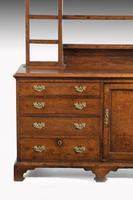 Late 18th Century Oak Dresser and Rack the base with central panel door (4 of 7)