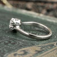 The Toi Et Moi Dial Old European Cut Vintage Diamond Ring (3 of 7)