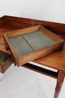 Antique Victorian Mahogany Writing Table / Washstand (11 of 13)