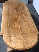 Large Oak Farmhouse Table with Extensions (7 of 30)