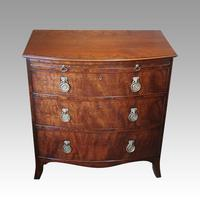 Regency Mahogany Batchelors Chest