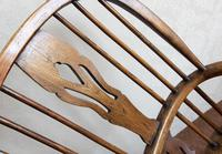 4 Matched High Back Windsor Chairs in Ash (4 of 4)