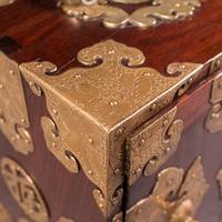 Antique Collector's Box, Chinese, Rosewood, Decorative Specimen Case c.1920 (9 of 12)