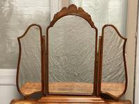 Burr Walnut Queen Anne Dressing Table (3 of 13)