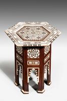 Hexagonal Bone & Hardwood Centre Table (3 of 5)