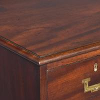 Antique George III Mahogany Military Chest (2 of 9)
