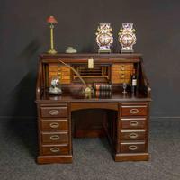 Early 20th Century Mahogany Desk (12 of 15)