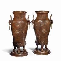 Pair of Large Meiji Period Bronze Vases (6 of 9)