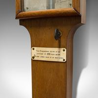 Antique Stick Barometer, Walnut, Scientific Instrument, Negretti & Zambra, 1900 (2 of 11)