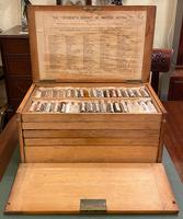 "Victorian ""cabinet Of materia medica"" – complete and totally original specimens. (3 of 6)"