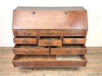 Large Georgian Oak Writing Bureau (8 of 13)