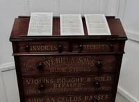 Large Victorian Mahogany Shop Display Music Cabinet (8 of 18)
