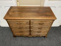 Stylish French Oak Chest of Drawers (13 of 18)