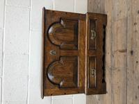 Antique 18th Century Style Welsh Oak Coffer Bach (10 of 14)