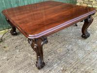 Very Large Victorian Extending Dining Table in Mahogany (17 of 17)