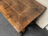 Early 18th Century French Walnut Console Table (3 of 28)