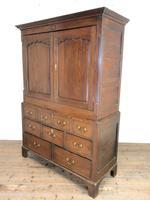 Antique Welsh Oak Press Cupboard (9 of 10)